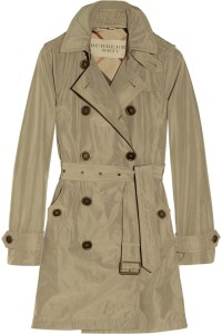 Burberry Brit - Hooded Packaway Trench Coat $750