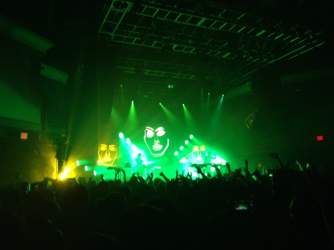 Disclosure performing at the 9:30 Club in Washington, DC on October 28, 2013.
